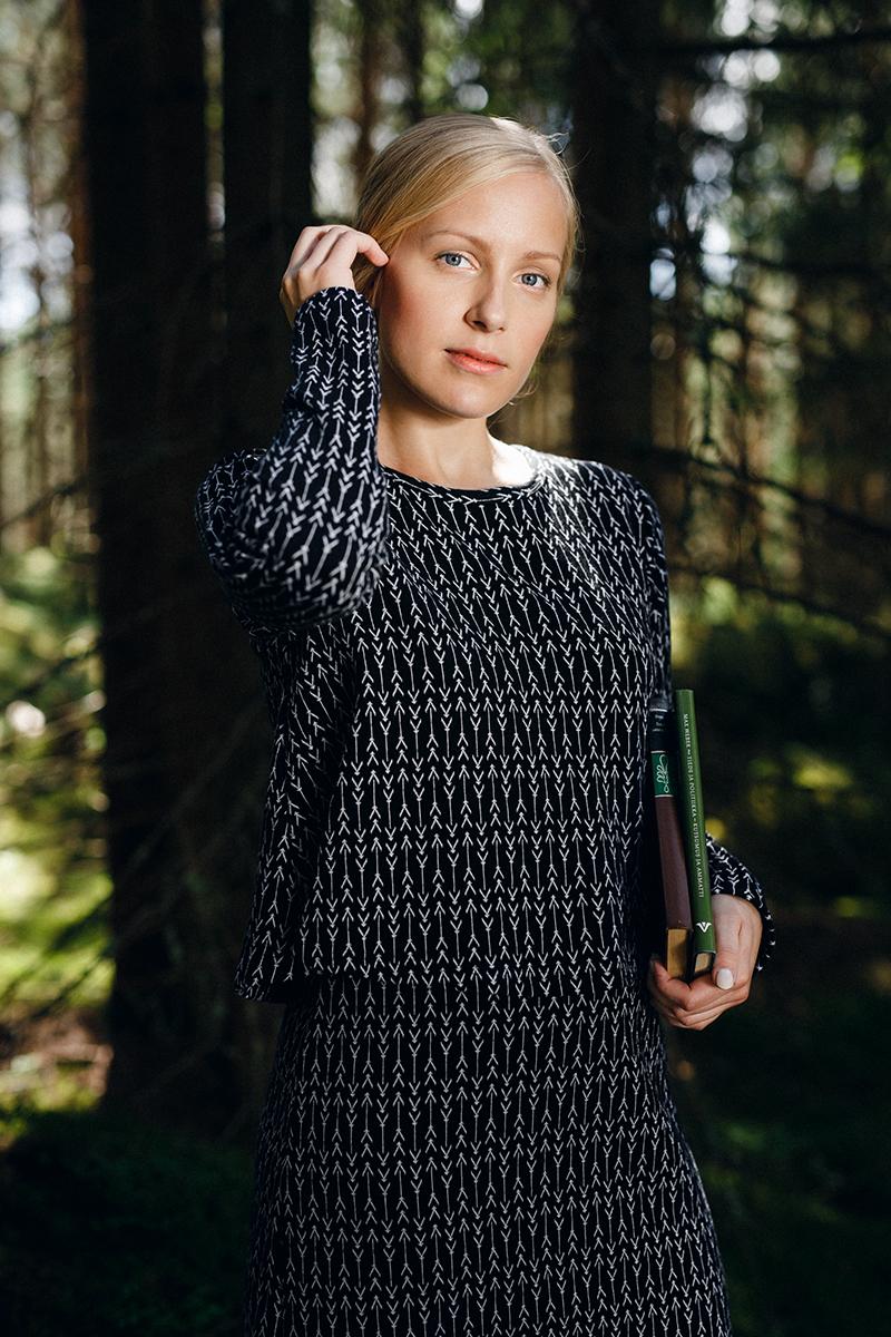 Nouki-AW1718-kaarna-layer dress 2