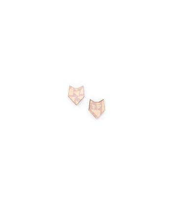 Pikku husky-nappikorvikset, roosa NOUKI