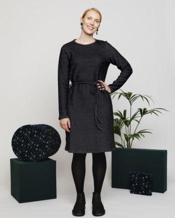 KLASSIKKO mekko musta NOUKI AW1819 1