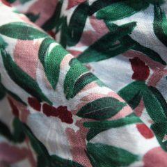 Linen fabric, Niitty pattern, NOUKI SS20